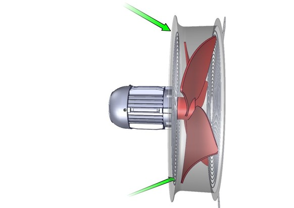 Ventiladores para transformadores for Ventiladores para oficina