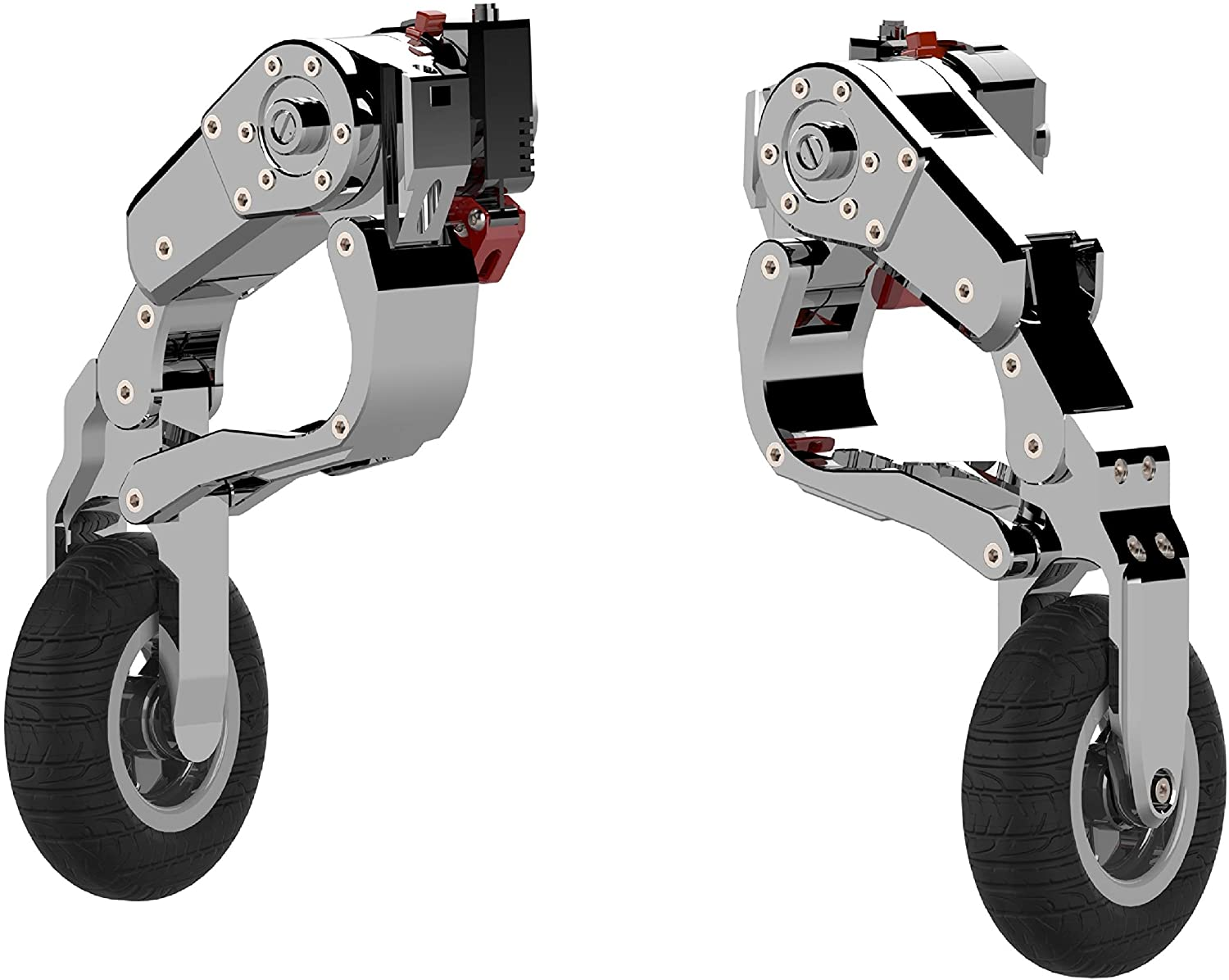 LANDING GEAR MOTORCYCLE LEG UP STAND ACCESSORIES WHEELS
